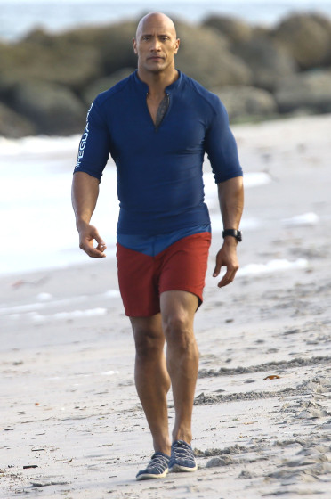 51984767 Stars are spotted on the set of 'Baywatch' in Boca Raton, Florida on March 1st, 2016 Stars are spotted on the set of 'Baywatch' in Boca Raton, Florida on March 1st, 2016 Pictured: Dwayne Johnson FameFlynet, Inc - Beverly Hills, CA, USA - +1 (310) 505-9876