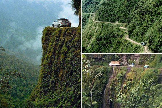 South-Yungas-Road,-Bolivia