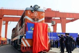China-London-Frieght-Train