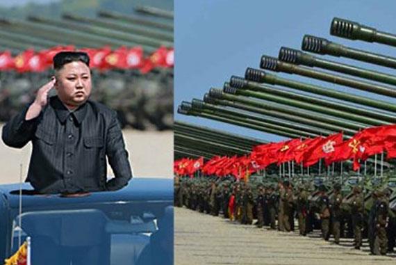 North-Korea-Military-Excercise